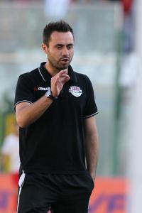De Zerbi, tecnico del Foggia (foto Gabriele Maricchiolo)