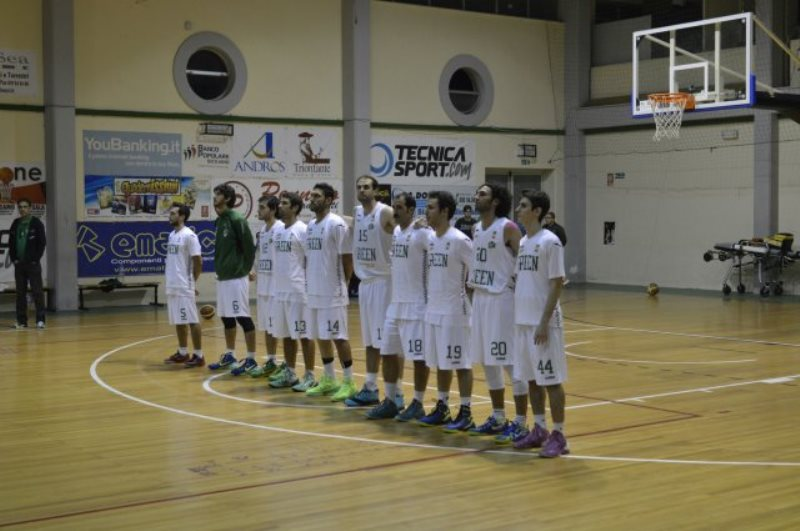Il team del Green Basket