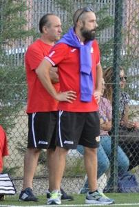 Il tecnico Massimiliano Drago ed il vice Paolo Pietro Comandè