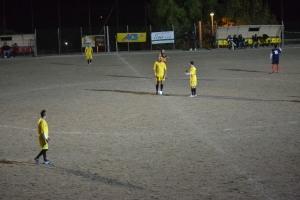 Inizio secondo tempo Atletico Cameris-Betuniq C.V.