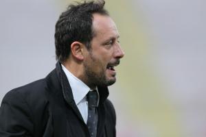 Il direttore sportivo Fabrizio Ferrigno, furibondo con la terna arbitrale, allontanato dal terreno di gioco