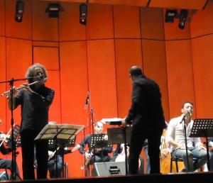 Parisi e il Maestro Salemi nell'Aria Faber