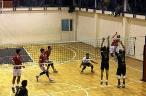 Ancora una fase del derby tra Peloro Volley e Pallavolo Messina