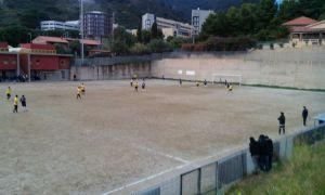 Una fase del match tra Spadaforese e Jonica, remake della sfida disputata in Coppa Italia appena tre giorni prima