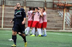 L'esultanza del Due Torri dopo l'ultima affermazione nel derby con l'Orlandina