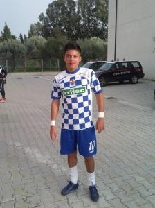 Maximiliano Lucarelli, autore del primo gol del Rocca