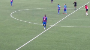 Opoku, grande protagonista del match