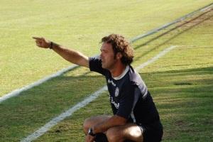 L'allenatore Pino Rigoli