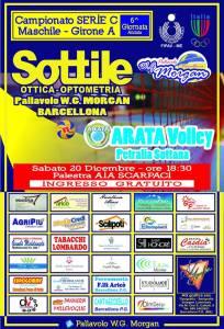Locandina della gara Ottica Brcellona-Arata
