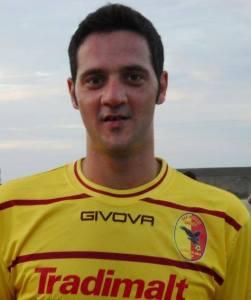 L'attaccante Giuseppe Giorgianni