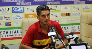 Luis Alfageme, attaccante del Benevento