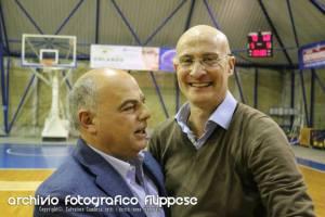 Coach Romeo ed il presidente Cocuzza