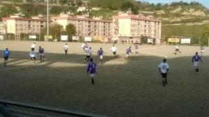 Contesse-Arci Grazia 2-1, una fase di gioco