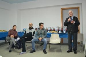 Copia di Festa dell'Atleta (i tecnici Silvia Bosurgi - Nedeljko Rodic - Antonio Laganà ed il presidente Giuseppe Carmignani)