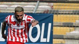 Danilo Alessandro con la maglia del Real Vicenza. Una stagione magica caratterizzata da ben 19 reti
