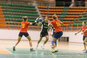 Handball Messina - Messana, una fase del match