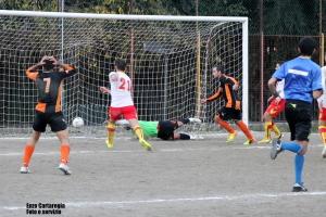 Il gol di Ribaudo (Stefanese)