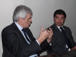Marcello Nicchi durante la conferenza stampa
