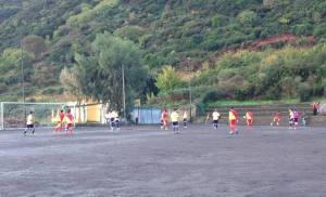 Malfa - Fc Contesse 0-1. Una fase del match