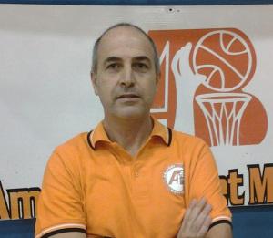 Mario Maggio, allenatore dell'Amatori Messina