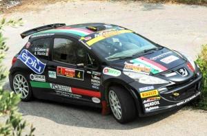 La coppia Nucita-Cotone su Peugeot 207 S2000