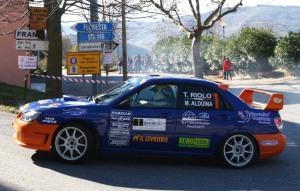Riolo-Alduina, secondi, su Subaru Impreza Sti N12 Spec C