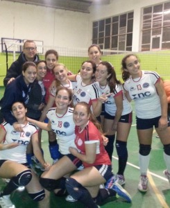 Le ragazze del Santa Teresa Volley, Serie D