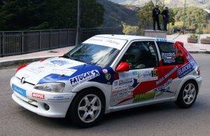 I vincitori Segreto-Longo su Peugeot 106 Gti 16v
