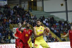 Il pivot di Barcellona Luca Garri