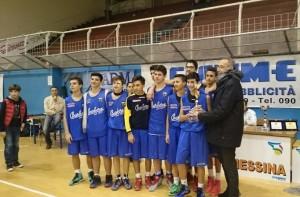 Secondo posto per i giovani del Basket Barcellona