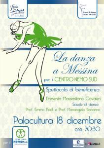La Danza a Messina per il centro Nemo Sud