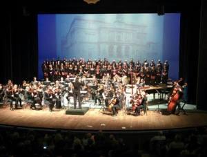 L'Orchestra insieme al Coro