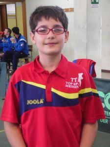 Esordio in campionato per il giovanissimo Marco Cappuccio