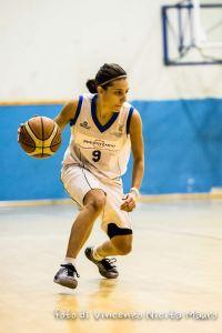 Rossana Bonnì (Rescifina) in palleggio foto Nicita