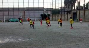 Il campo di calcio di Pompei