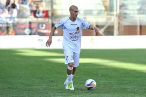 Nicola Citro in azione con la maglia del Città di Messina