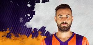 """Daniele Magliocchetti con la divisa del Pune City, con cui ha disputato fino al 20 dicembre la """"Indian Super League"""""""