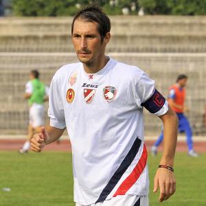 Alberto Quadri in azione con la maglia del Campobasso