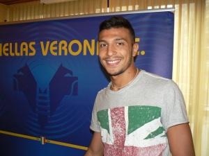 Alessandro Berardi ha esordito in B con la maglia dell'Hellas Verona