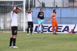 La delusione dei calciatori del Messina, che hanno pregustato a lungo l'impresa (Alfano/Activa)