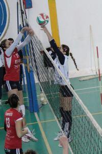 Effe Volley - Castelvetrano, una fase del match