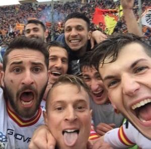 Ciciretti e compagni: un selfie da ricordare