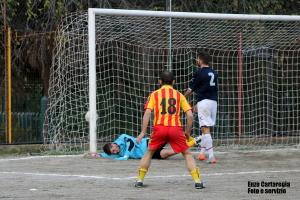 Il gol dell'1-0 di Gregorio