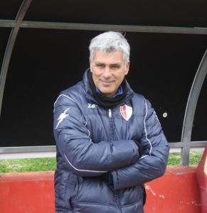 Guido Ugolotti, tecnico del Savoia (foto Furrer)
