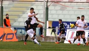 Damonte in pressing su un avversario (foto Furrer)