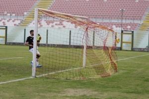 Corona sigla l'1-0 (foto Paolo Furrer)