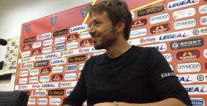 Il direttore sportivo del Lecce Antonio Tesoro