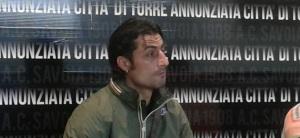 L'attaccante del Savoia Francesco Scarpa, uomo simbolo di uno spogliatoio in fibrillazione per la crisi societaria