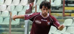 Manuel Mancini con la maglia della Salernitana