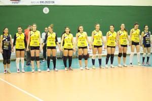La formazione del Messina Volley